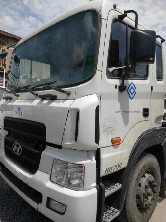 Đầu kéo hyundai hd700 đã qua sử dụng 2015 giá 1170 8