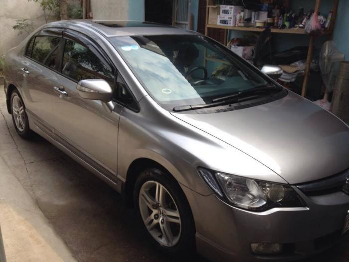 Cần bán xe Honda Civic 2006 số tự động màu xám bạc
