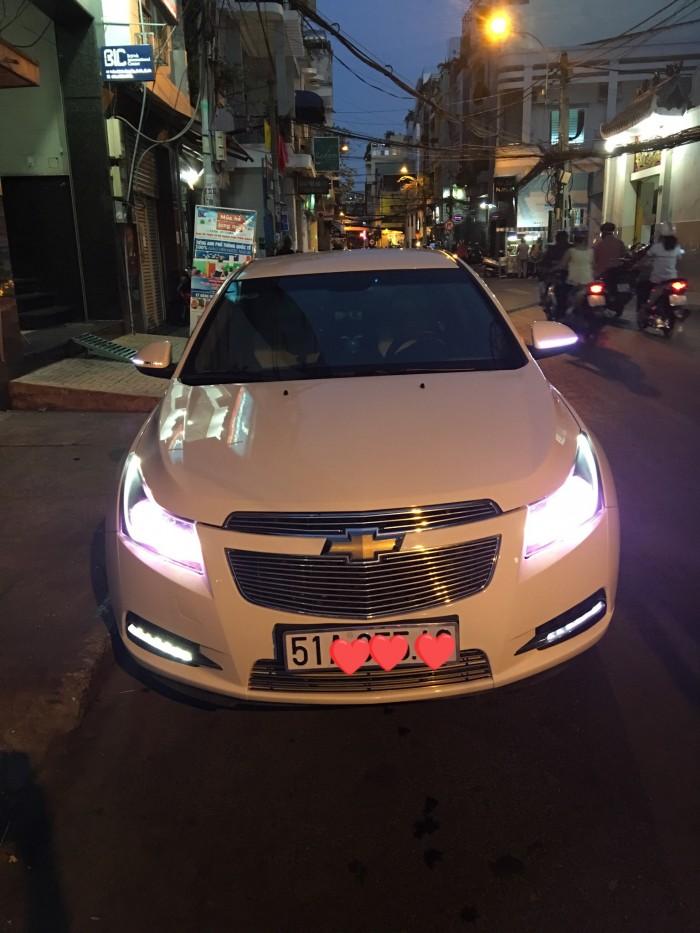 Bán xe gia đình Chevrolet Cruze Màu Trắng 2014 đẹp lung linh - Biển SG 9 nút rất May Mắn 1