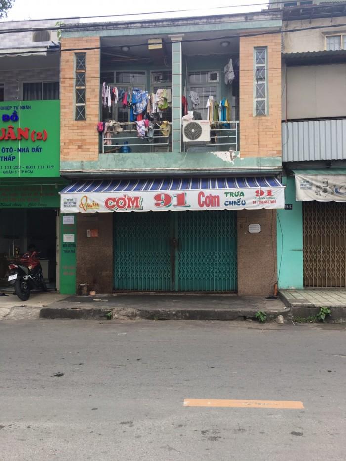Bán Nhà MT đường Nguyễn Văn Thủ, Q.1, DT:4x17.8m, 1 lầu