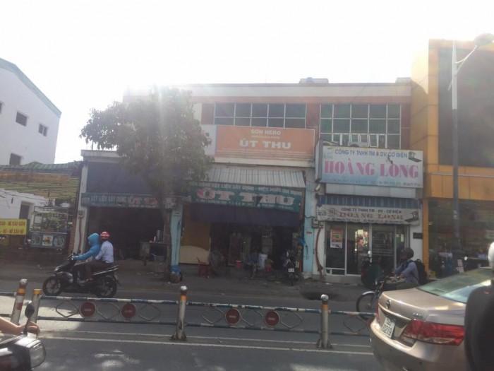 Cho thuê nhà mặt tiền Dương Bá Trạc, Quận 8, dt:9,5x8m.