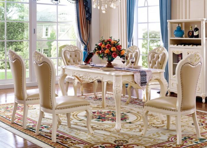 bàn ghế phong cách châu âu2