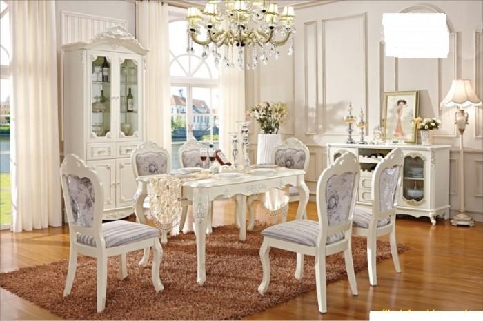 bộ bàn ăn phong cách châu âu8
