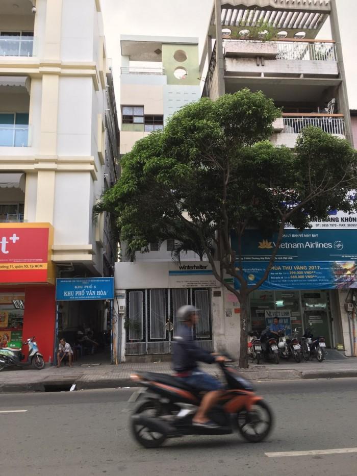 Bán nhà MT Nguyễn Phi Khanh, Quận 1, DT 6x16m, có GPXD hầm 7 lầu