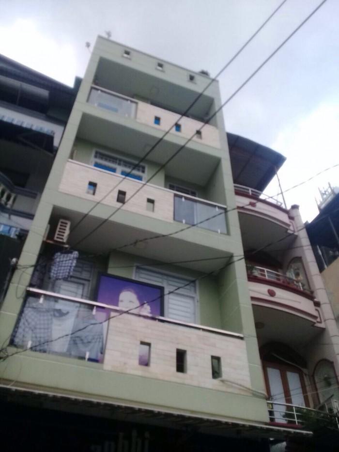 Bán nhà MT Đường Lê Hồng Phong, Q10, xây 3 lầu. DT: 4x10m