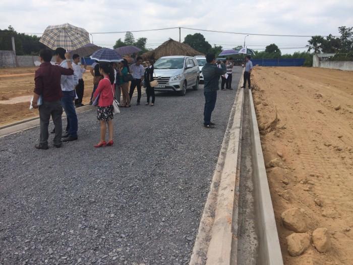 Bán đất nền mặt tiền Bàu Cạn - sổ hồng riêng - gần sân bay Long Thành
