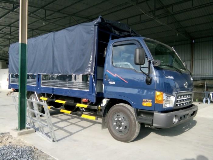 Xe tải đô thành hd99 thùng mui bạt tải 6.5 tấn. đô thành 2017 tại Trà Vinh