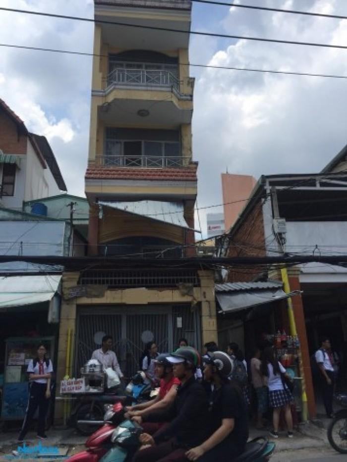 Nhà 4 tầng ngay mặt tiền Nguyễn Văn Đậu, Q. Bình Thạnh