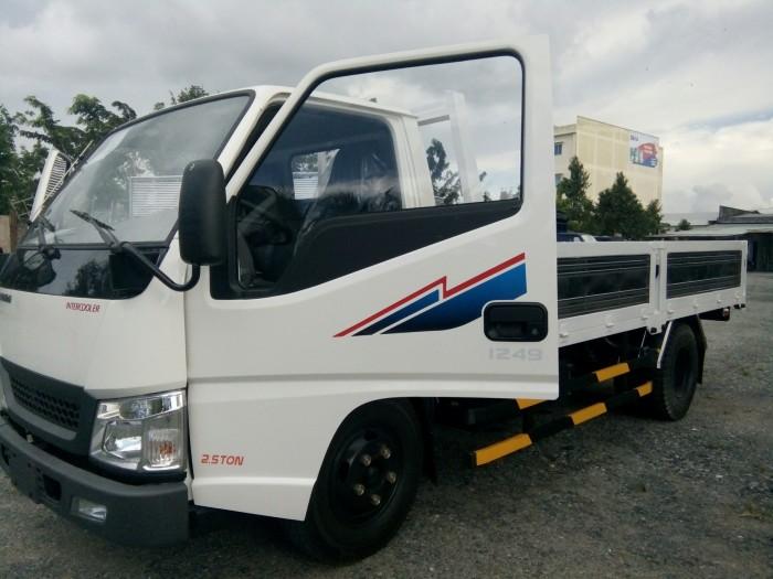 Xe tải huyndai 2,5 tấn thùng lửng loại iz49. máy isuzu 2.8 có turbo bảo hành 3 năm tại Cần Thơ