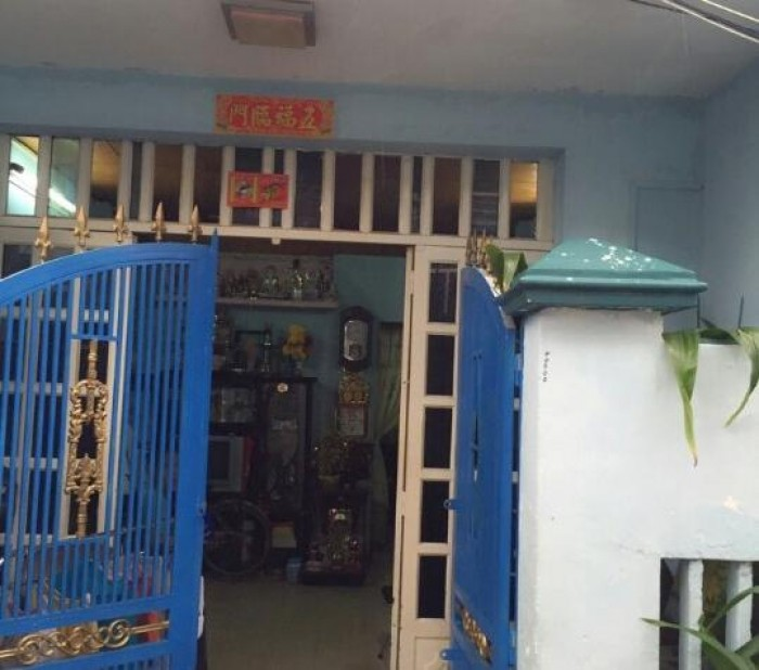 Nhà cấp 4, diện tích 45,8m2, SHR chính chủ , 3 mặt tiền, 79 Bùi Thị Xuân, Q1