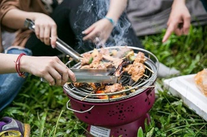 Bếp nướng không khói cắm điện trực tiếp, bếp nướng Nam Hồng BN300 xuất khẩu10