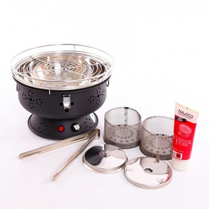 Bếp nướng không khói cắm điện trực tiếp, bếp nướng Nam Hồng BN300 xuất khẩu5