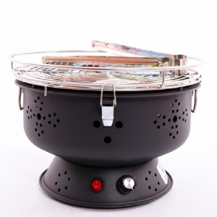 Bếp nướng không khói cắm điện trực tiếp, bếp nướng Nam Hồng BN300 xuất khẩu2