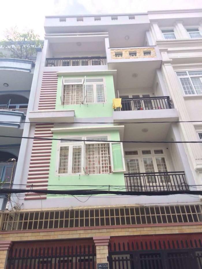 Bán nhà mặt tiền đường Nguyễn Phúc Nguyên Quận 3. Ngay vòng xoay Dân Chủ DT 5x20m