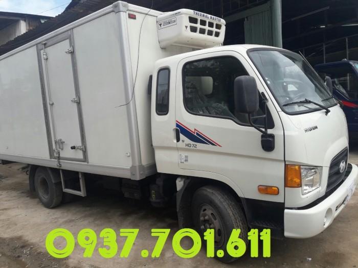 Bán Xe Tải Đông Lạnh Hyundai Hd72 3.5t Nhập Khẩu Hỗ Trợ Vay Cao Giá Tốt 2