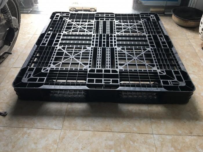 Pallet nhựa cũ thanh lý giá rẻ 1300x1100x120 mm6