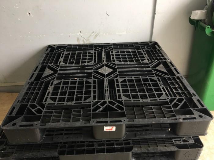 Pallet nhựa cũ thanh lý giá rẻ 1300x1100x120 mm4