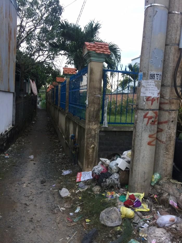 Cần tiền thanh lý lô đất 2 mặt tiền HL11. xã Tân Quý Tây, huyện Binh Chánh.