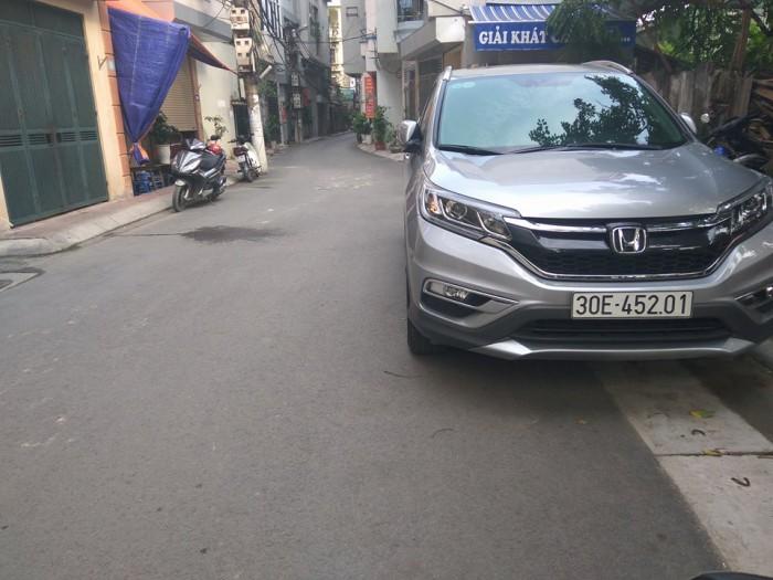 Bán nhà Văn Cao Ba Đình 98m2, ngõ 2 ô tô tránh