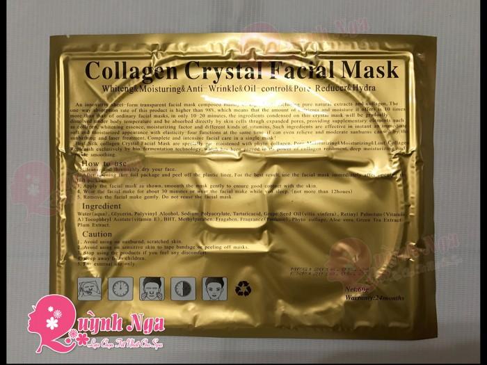 Mặt Nạ Collagen Vàng 4 Trong 11