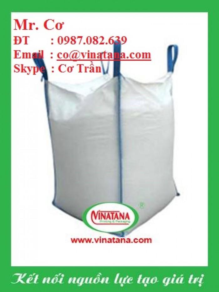 Bao Jumbo 1 tấn, bao jumbo đựng gạo, khoáng sản, mùn cưa ...1