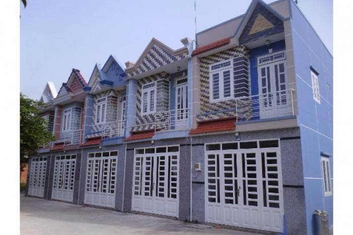 Bán nhà khu dân cư đông cách chợ bình chánh 3 km, 1 lầu, nhà dt 4x24m ,3pn,2wc