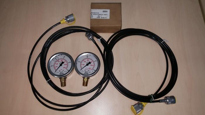 Bộ test áp thủy lực Stauff - Đồng hồ áp suất2