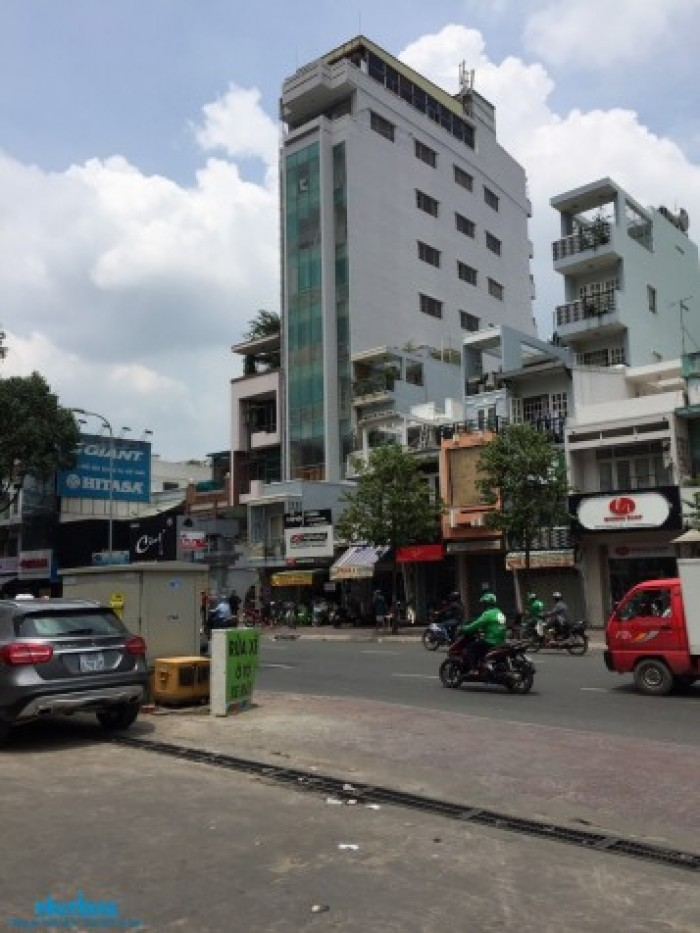 Tòa nhà 10 tầng mặt tiền đường Võ Thị Sáu, P.8, Quận 3, 1330m2