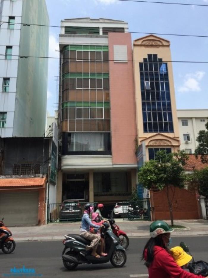 Tòa nhà văn phòng 8 tầng mặt tiền Điện Biên Phủ, quận 1, 8x21