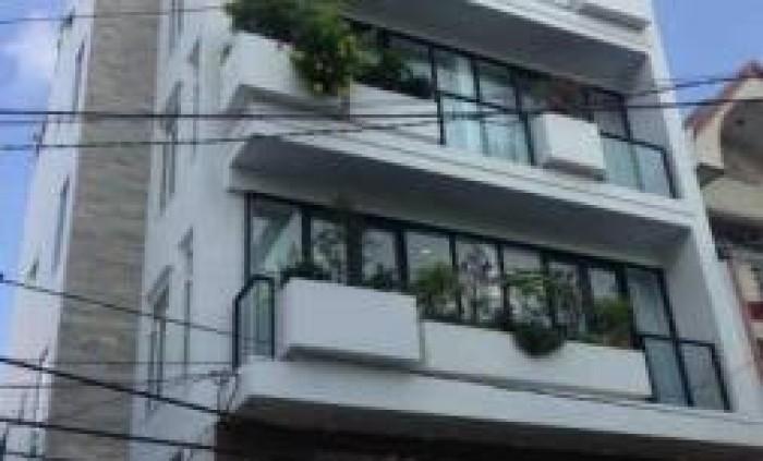 Bán tòa Căn hộ dịch vụ MT Trần Quang Khải, Q1, DT 4x24m, mới 100%, trệt 5 lầu thang máy