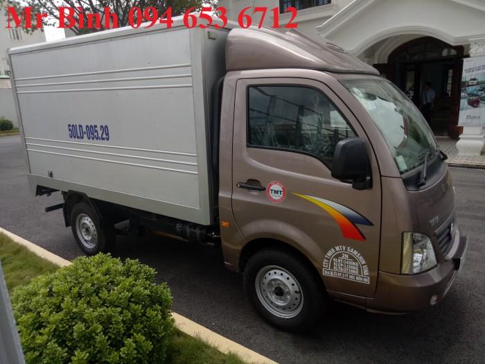 Xe tải TaTa super ace 1t2, thùng kín 5