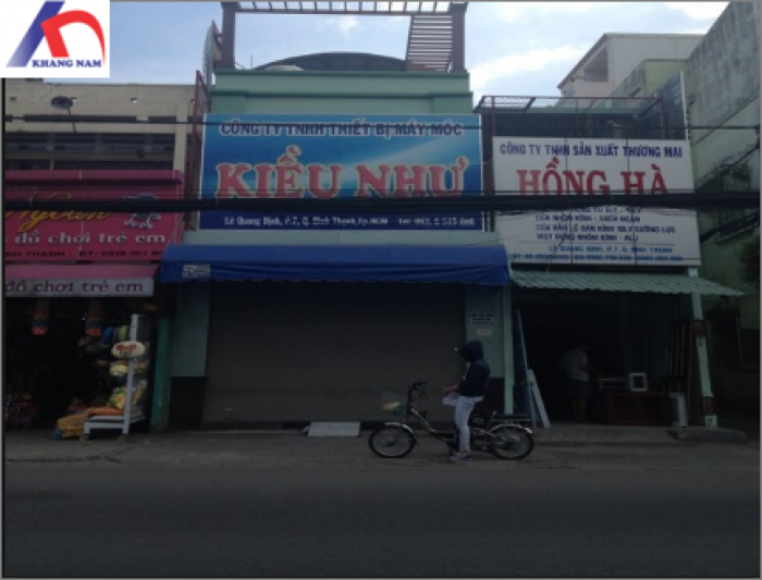 Cho thuê nhà MT Lê Quang Định, Q.BT, (DT: 6x30m, nhà cấp 4).