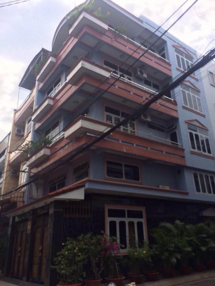 Bán nhà MT Điện Biên Phủ - Hai Bà Trưng, Quận. 3, DT 4x27m vuông vức, Hầm 6 lầu