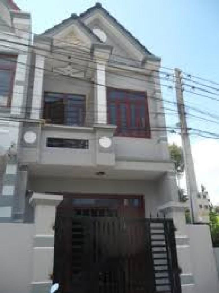 Bán nhà hẻm rộng đường Thành Thái, P.14, Q.10, DT 4.3x10m, trệt, 1 lầu nhà mới.