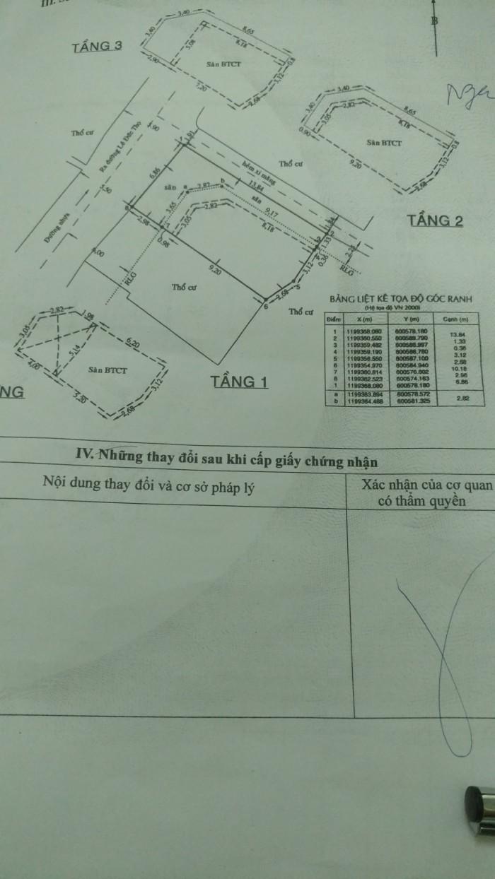 Bán Nhà Mặt Tiền Đường Số 10, Phường 16, Quận Gò Vấp,