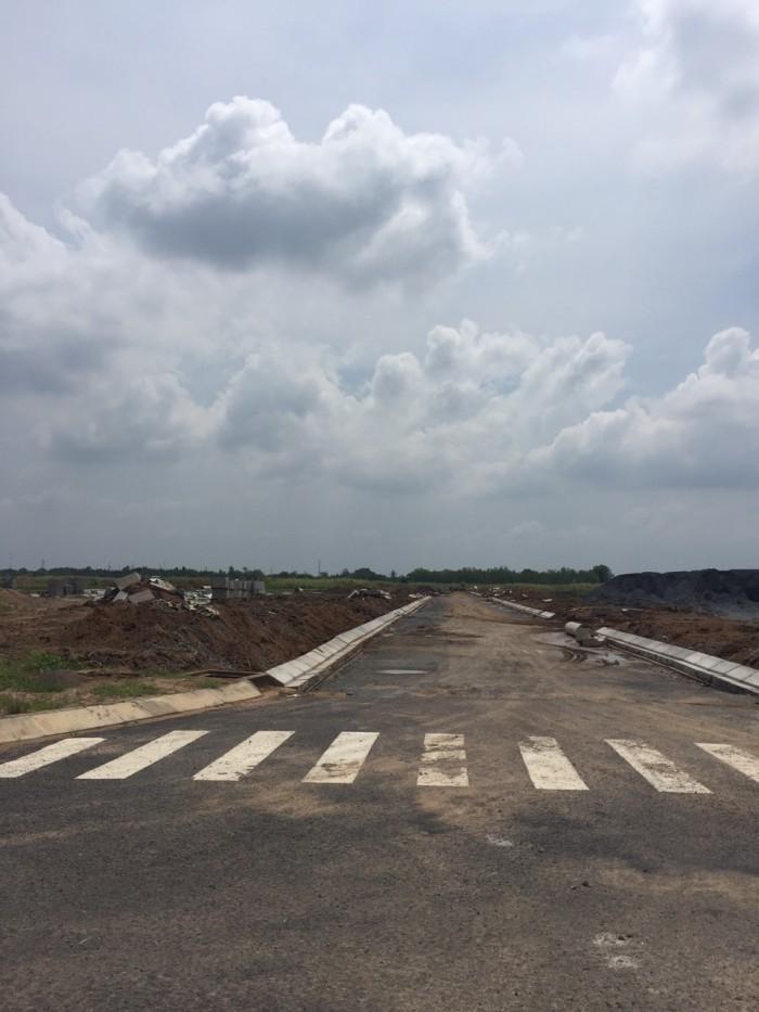 Đất ĐT826C (Lê Văn Lương nối dài), cạnh khu công nghiệp Long Hậu