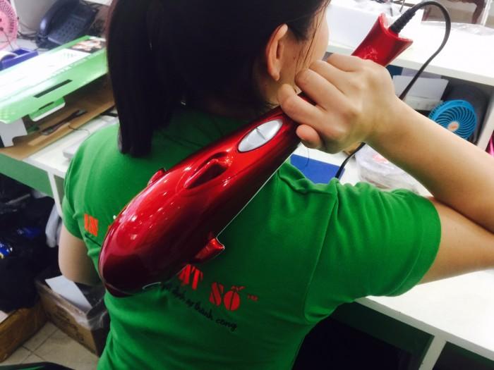 Máy Massage Cá Heo PL-608A Loại Lớn, Giảm Nhức Mỏi tay, vai và lưng Hiệu Quả + Tặng 3 Đầu Massage - MSN388129