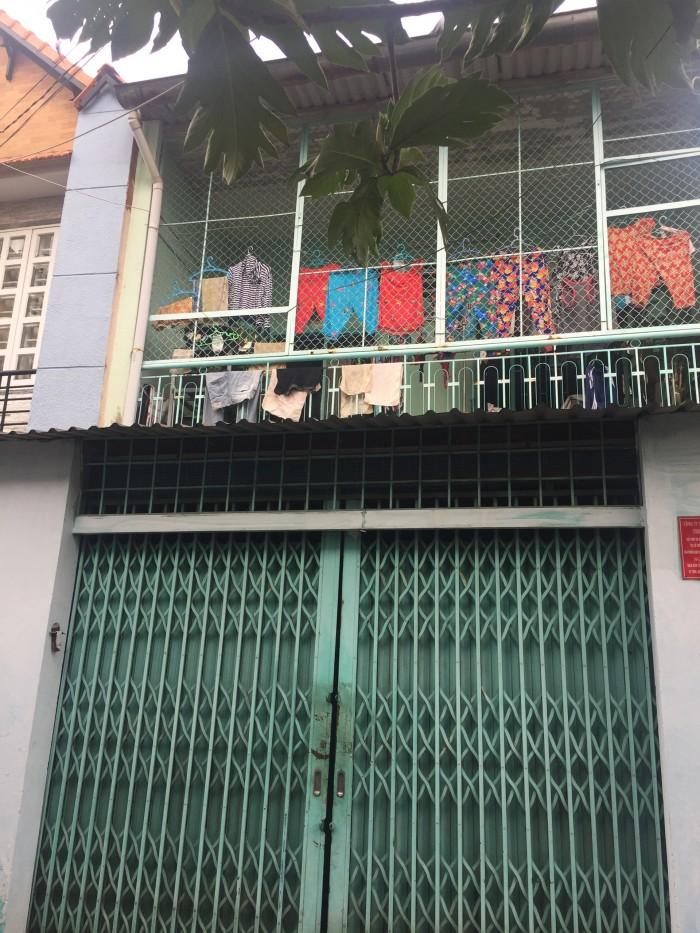 Nhà HXH đường Tân Hương 5,25x15,5m