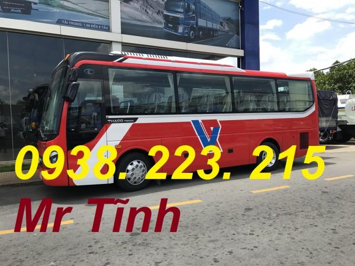 Xe 29 chỗ bầu hơi thaco town tb82 mẫu mới nhất