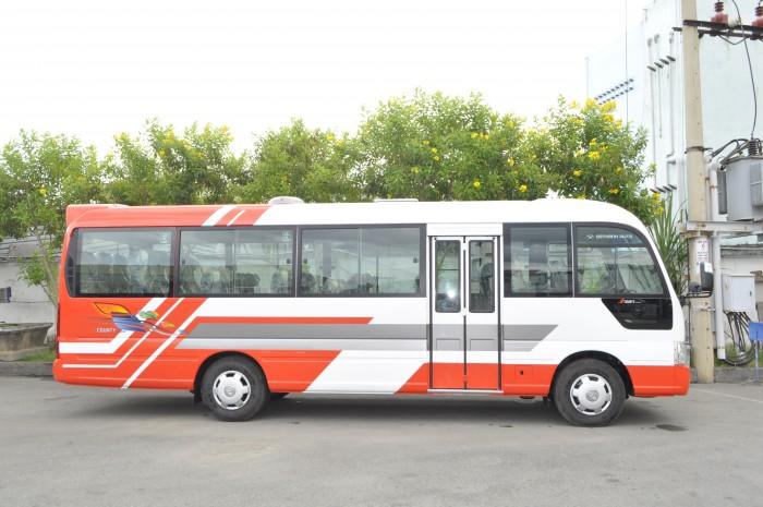Xe Khách 29 Chỗ Hyundai County, Giá Xe Hyundai County 29 Chỗ 1