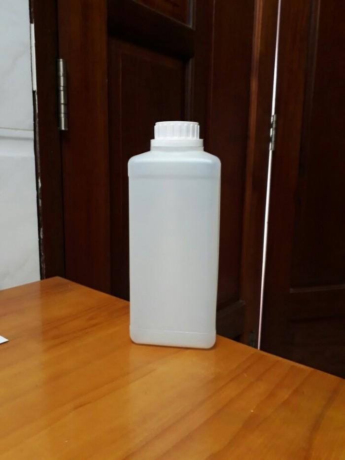 Chai nhựa 1 lít vuông16