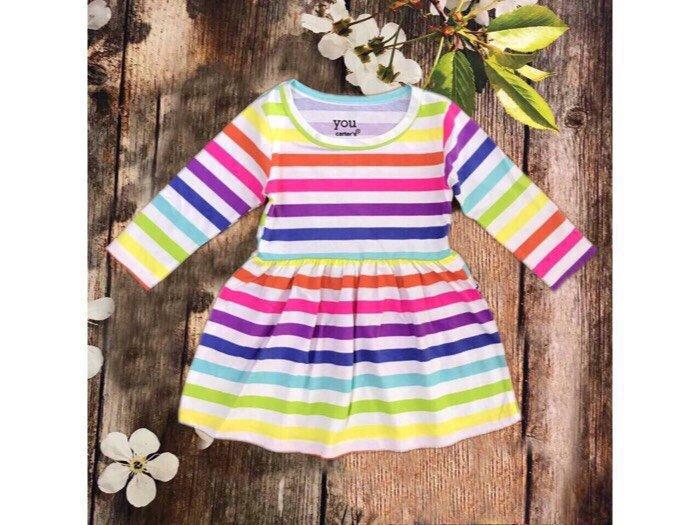 Váy bé gái 100% cotton hàng vnxk0
