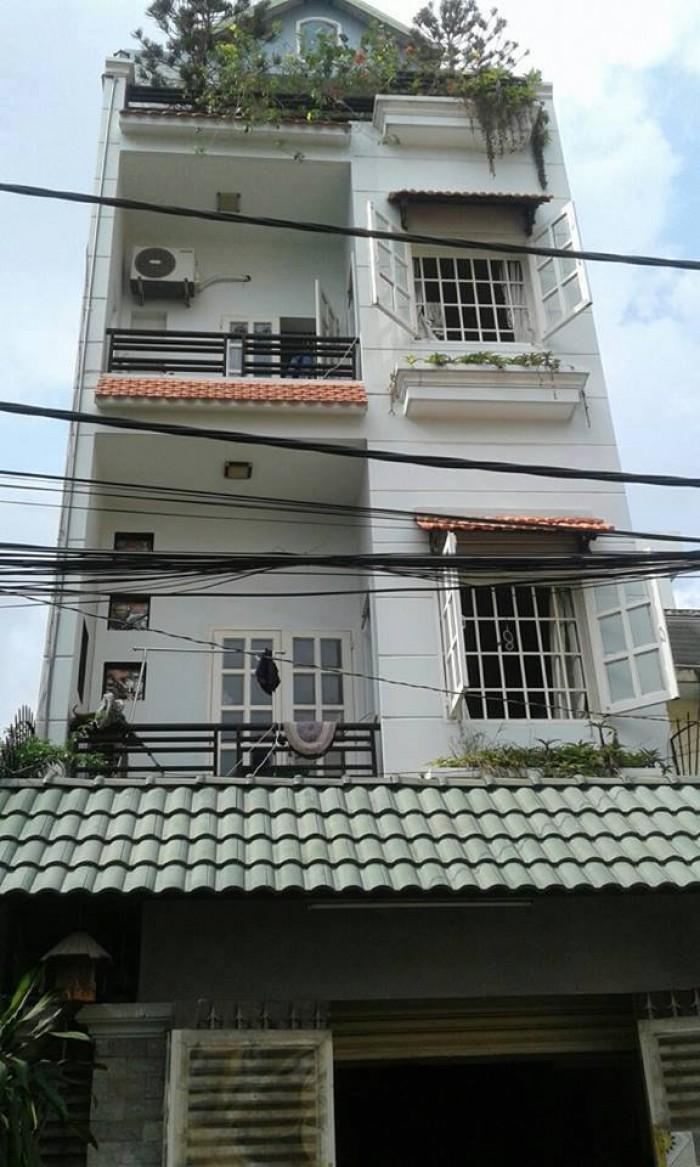 Nhà đẹp, mới xây Hoàng Văn Thụ, Q. Phú Nhuận, 32m2 (8x4m) 3T