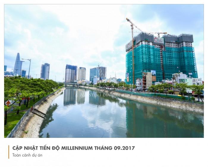 Căn hộ cao cấp Milenium - Sở hữu vĩnh viễn, TT 30% đến khi nhận nhà