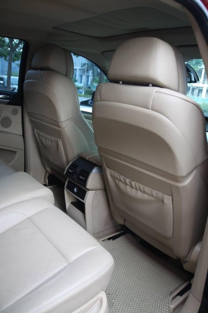 BMW X6 Model 2009. Màu đỏ nội thất kem đăng ký chính chủ cá nhân biển Hà Nội 2