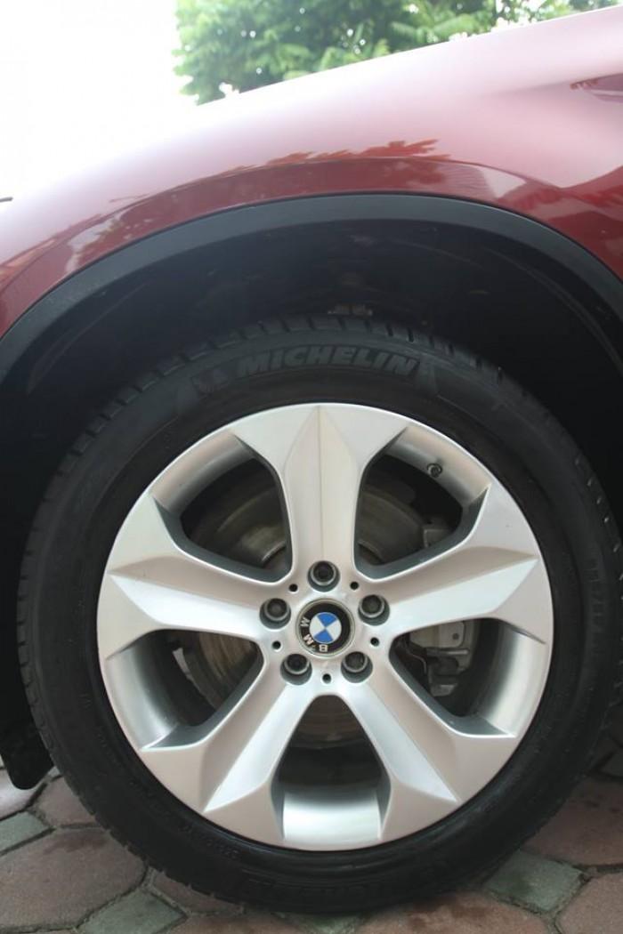 BMW X6 Model 2009. Màu đỏ nội thất kem đăng ký chính chủ cá nhân biển Hà Nội 4