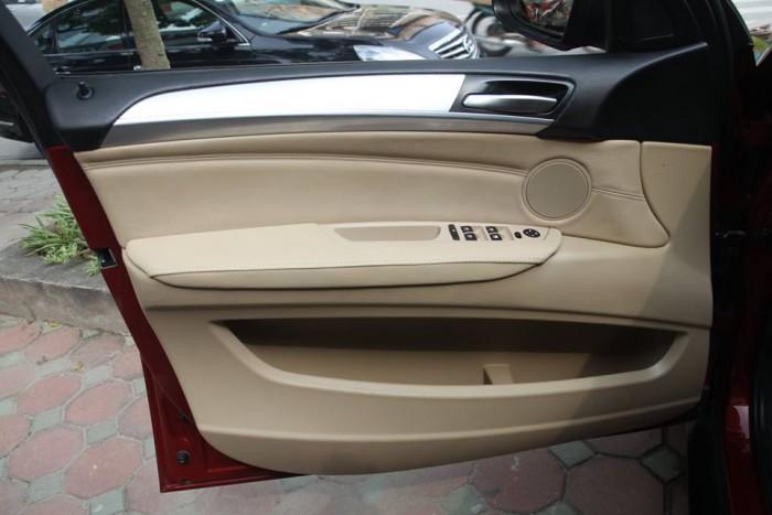 BMW X6 Model 2009. Màu đỏ nội thất kem đăng ký chính chủ cá nhân biển Hà Nội 3