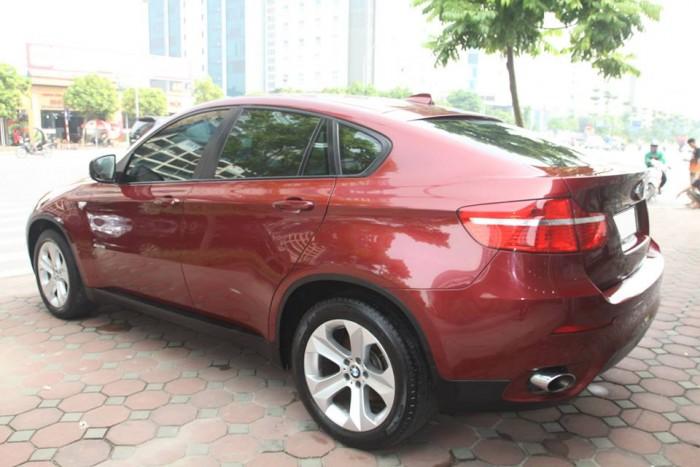 BMW X6 Model 2009. Màu đỏ nội thất kem đăng ký chính chủ cá nhân biển Hà Nội 5