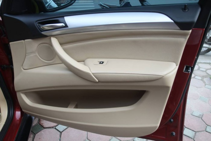 BMW X6 Model 2009. Màu đỏ nội thất kem đăng ký chính chủ cá nhân biển Hà Nội 7