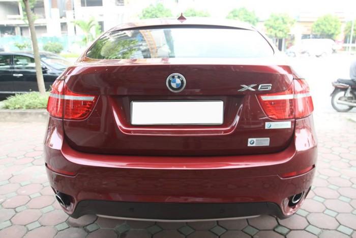 BMW X6 Model 2009. Màu đỏ nội thất kem đăng ký chính chủ cá nhân biển Hà Nội 8